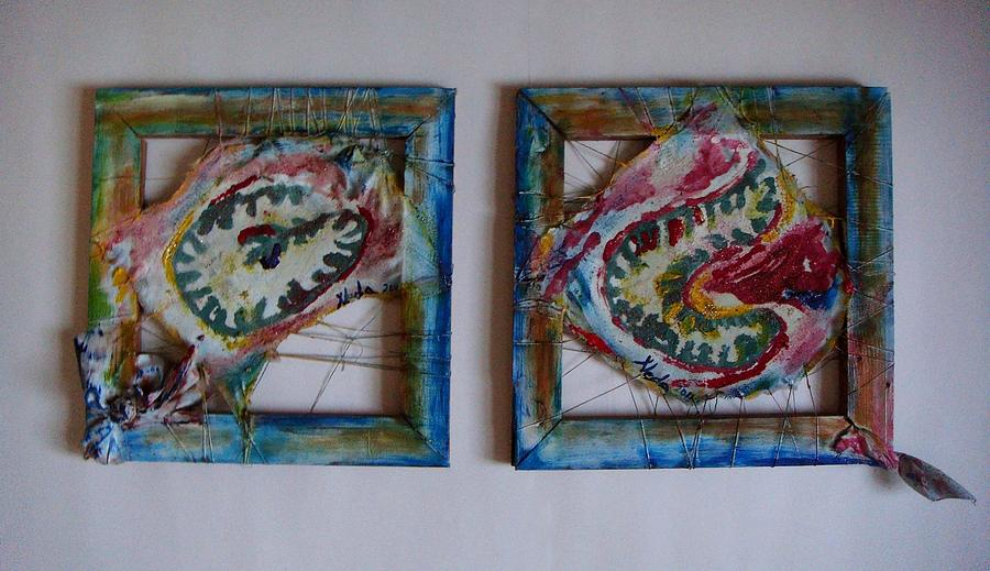 Landscape Painting - Organic by Neda Laketic