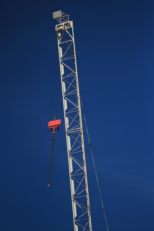 Crane Photograph - Original Crane by Bogdan Constantin Petrovici