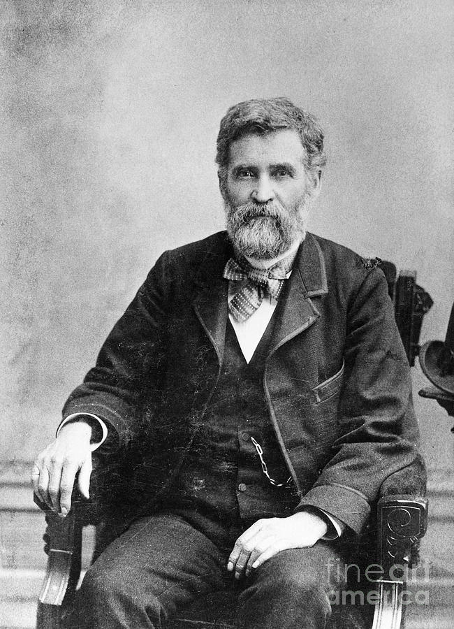 1890s Photograph - Orion Clemens (1825-1897) by Granger