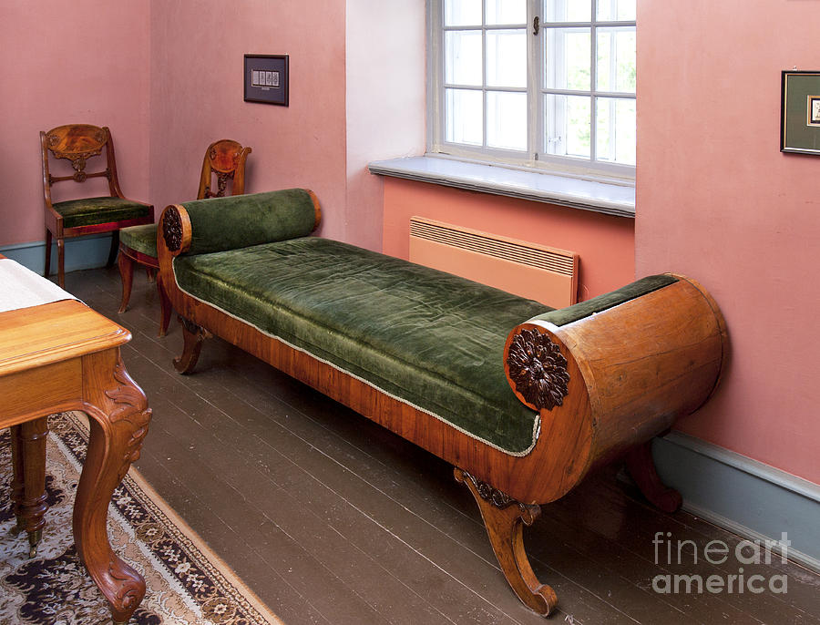 chairs photograph ornate backless sofa by jaak nilson