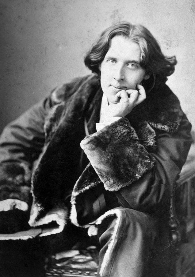 Historical Photograph - Oscar Wilde 1864-1900, Photograph by Everett