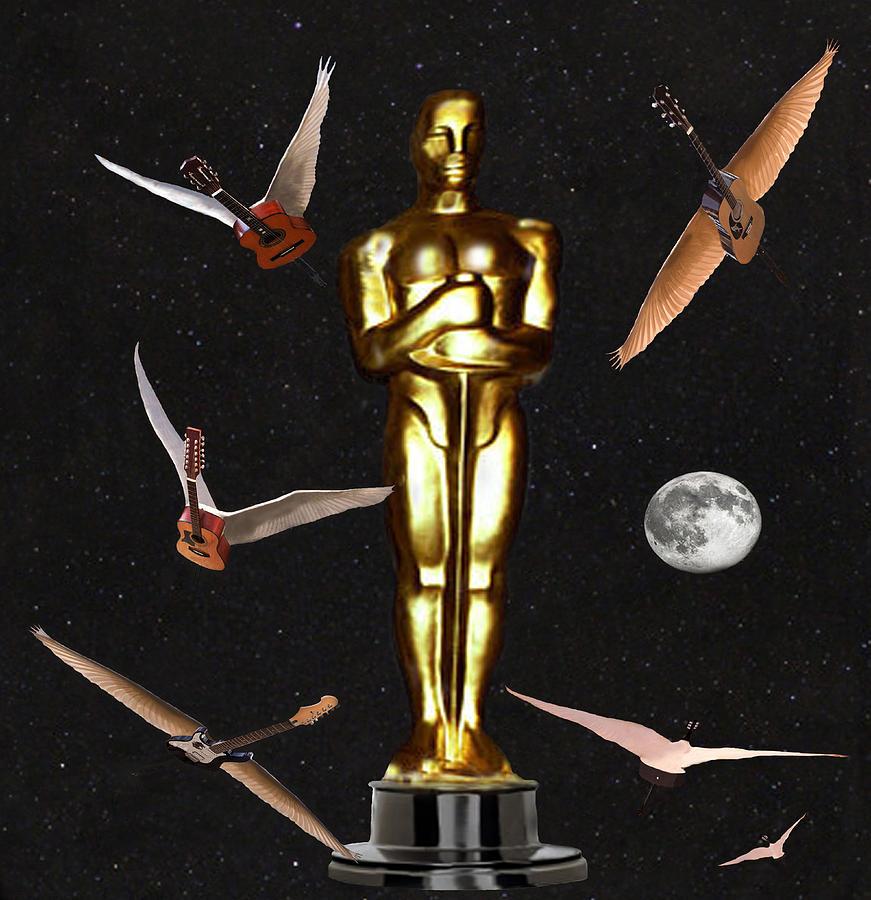 Academy Award Digital Art - Oscars Night Out by Eric Kempson