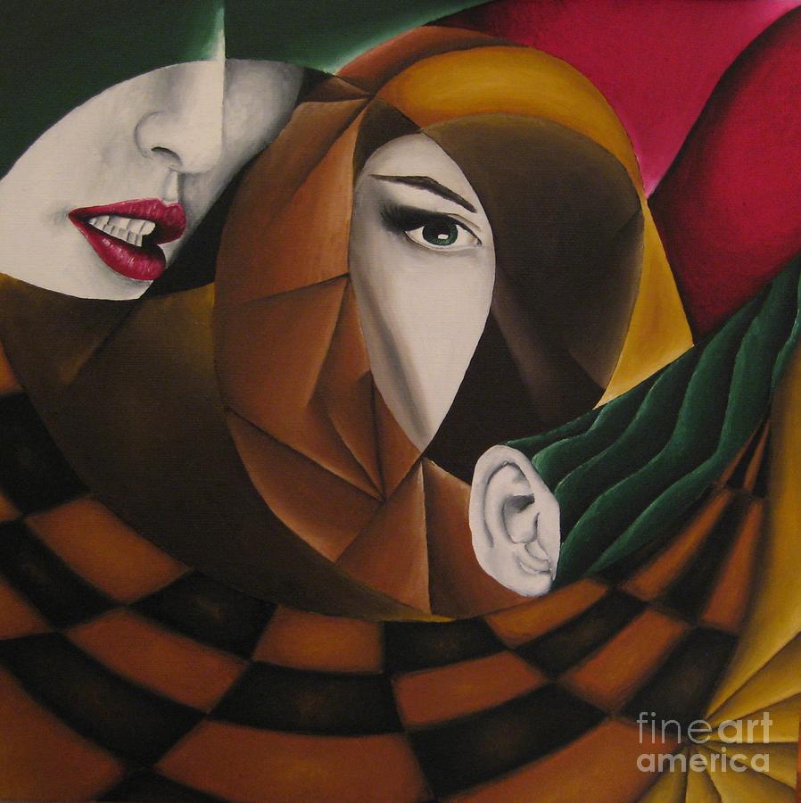 Os Painting - Ossa by Kleopatra Aurel