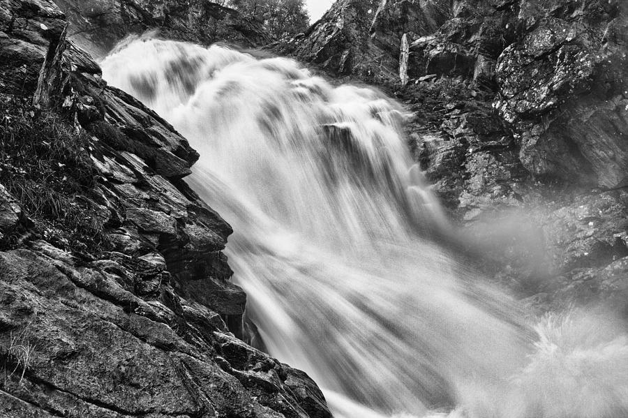 Landscape Photograph - Osterbro Falls by A A
