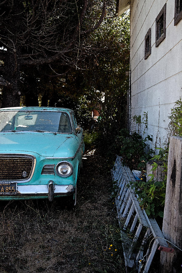 Old Car Photograph - Other Side by Joe Fernandez