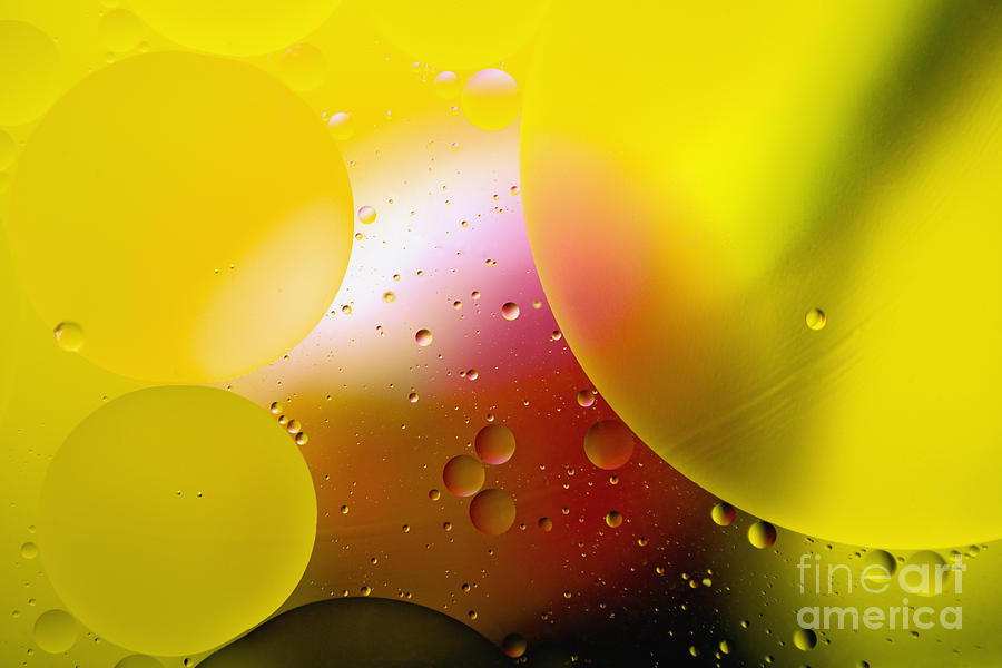 Oil Photograph - Other Worlds - D007924 by Daniel Dempster