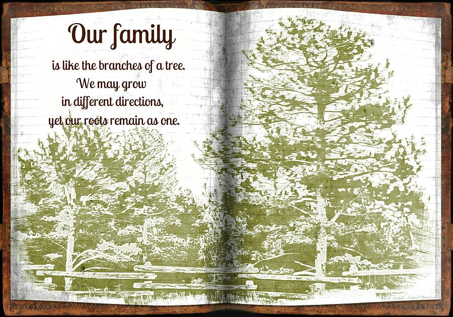 Family Photograph - Our Family Roots by Michelle Frizzell-Thompson