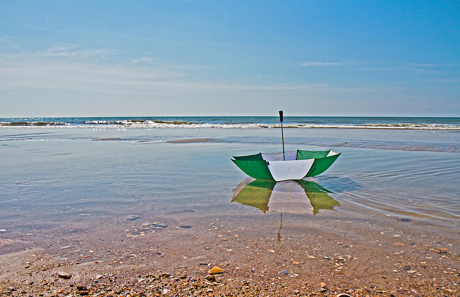 Umbrella Photograph - Out For A Stroll by Betsy Knapp