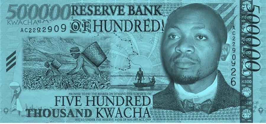 Currency Digital Art - Out Of Poverty by Mike Chilemba