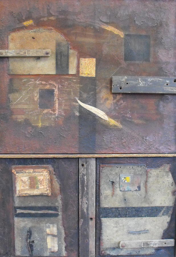 Abstract Painting - Out Of The Dust by Ralph Levesque