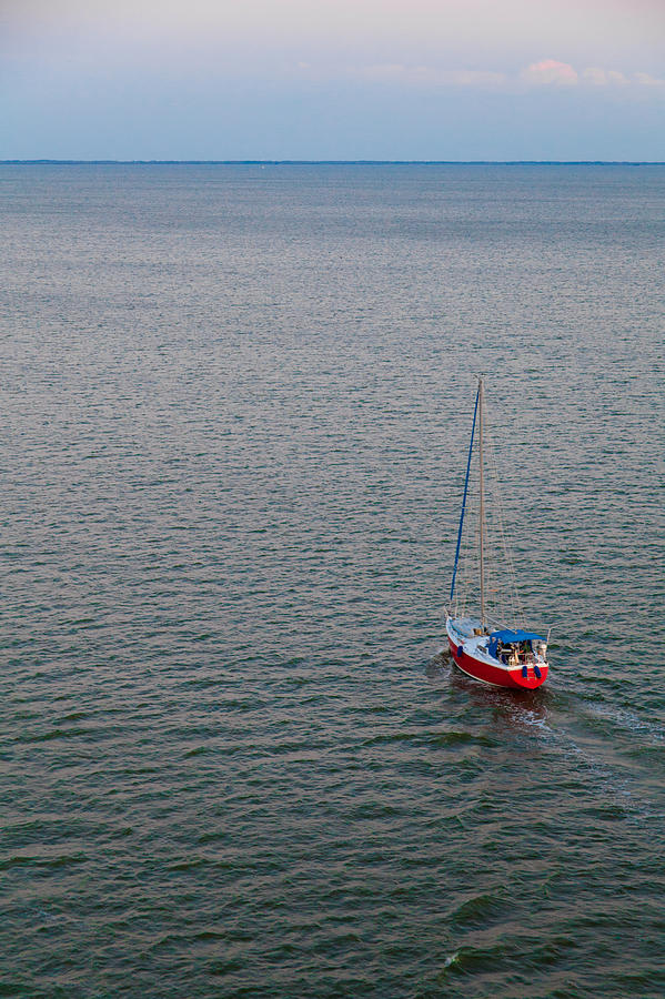Boat Photograph - Out To Sea by Chad Dutson