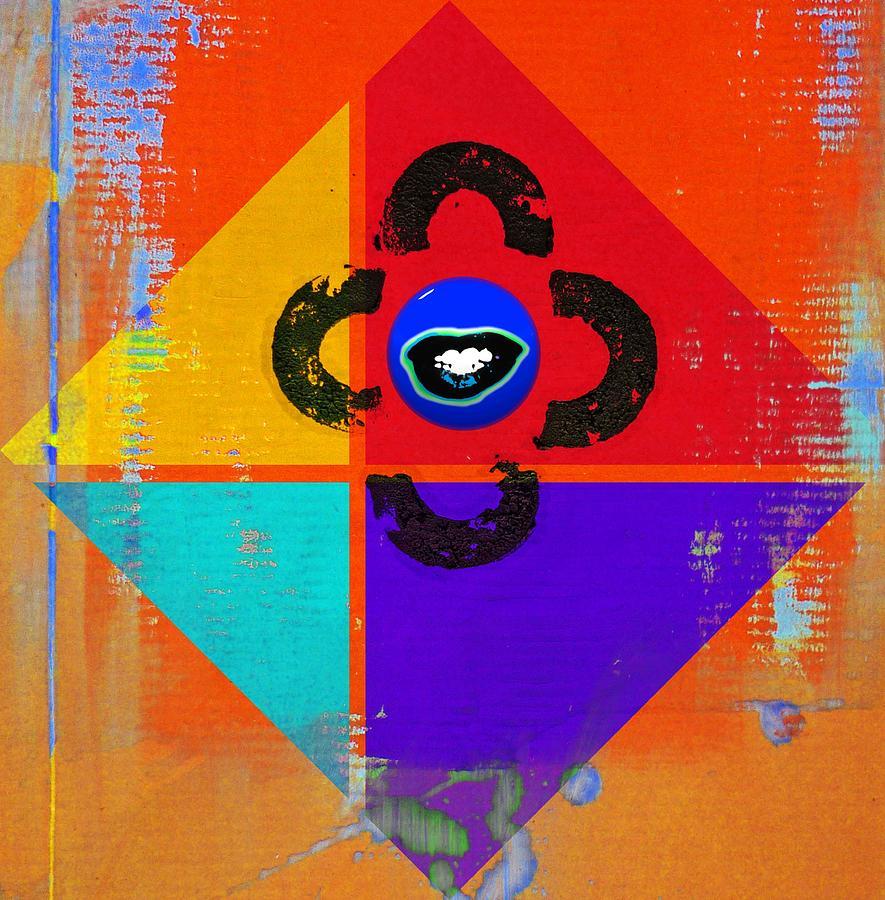 Andy Warhol Digital Art - Outback Tv by Charles Stuart