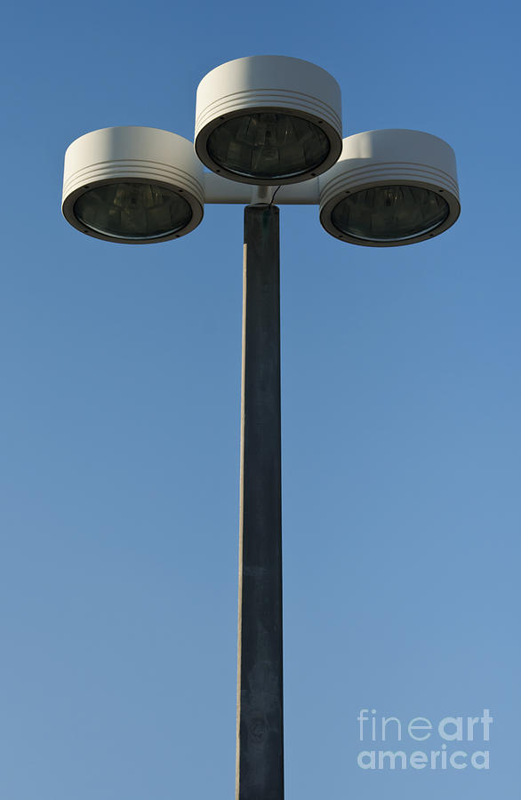 Lamp Photograph - Outdoor Lamp Post by Blink Images