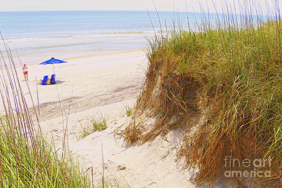 Beach Photograph - Outerbanks by Lydia Holly