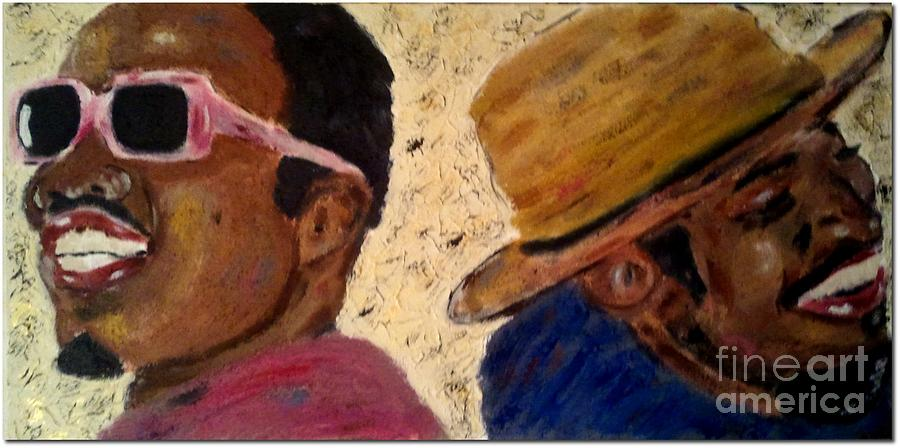 Outkast Painting - Outkast by J Von Ryan