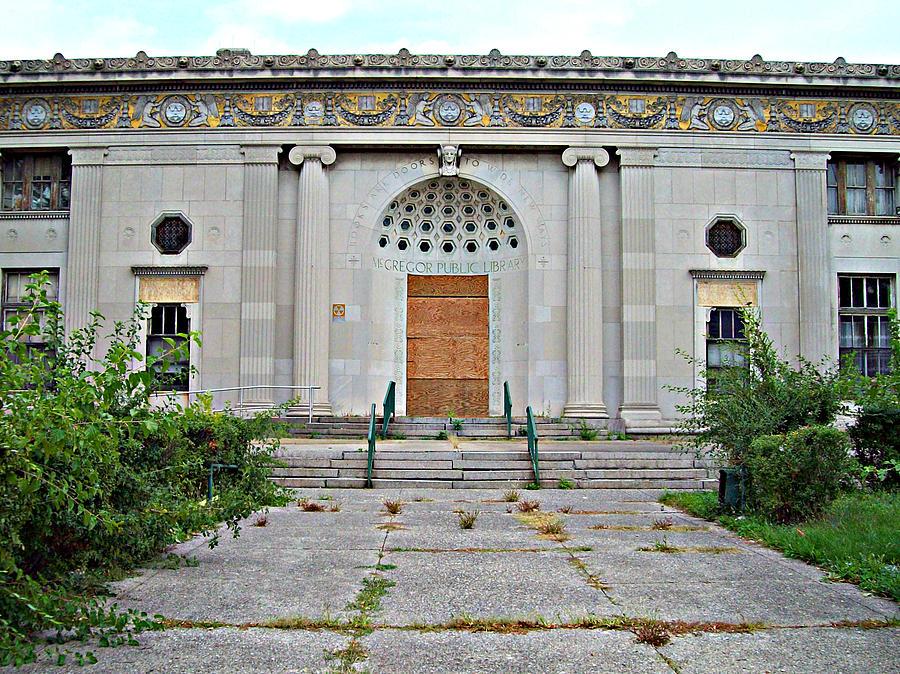 Mj Olsen Photograph - Outside Closed Doors by MJ Olsen