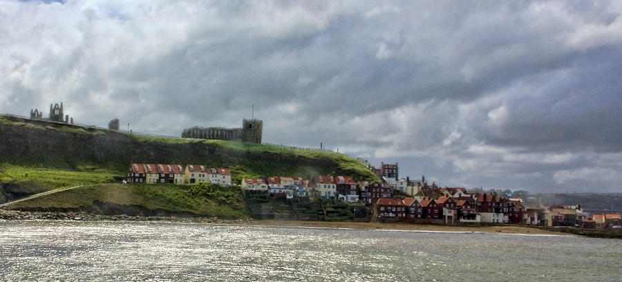 Whitby Photograph - Over Looking Whitby by Trevor Kersley