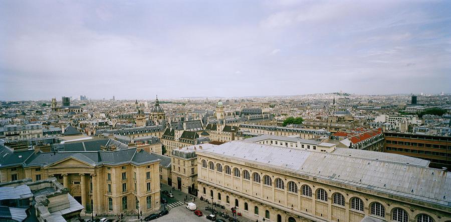 Paris Photograph - Looking Over Paris by Shaun Higson