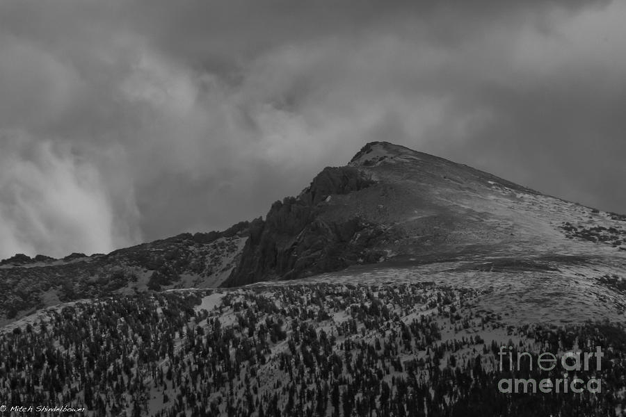 Jobs Peak Photograph - Over The Top by Mitch Shindelbower