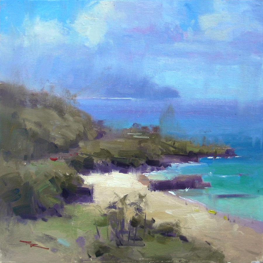 Over Waimea Painting By Richard Robinson