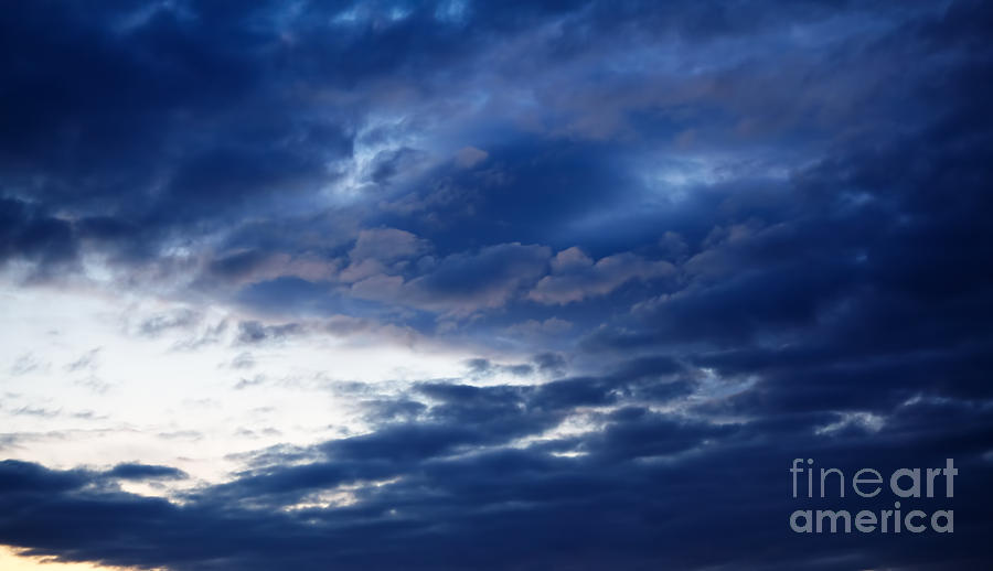 Clouds Photograph - Overcast Sky In The Morning by Gabriela Insuratelu