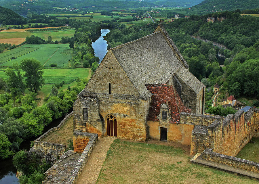 France Photograph - Overlooking The French Countryside by Dave Mills