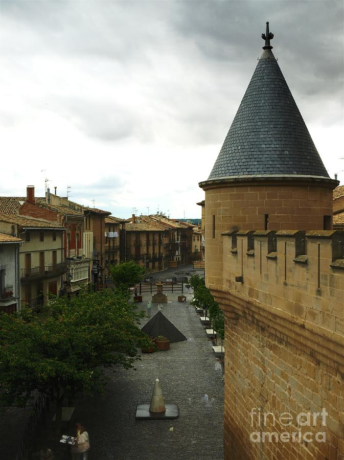Castle Photograph - Overlooking The Plaza by Alfredo Rodriguez