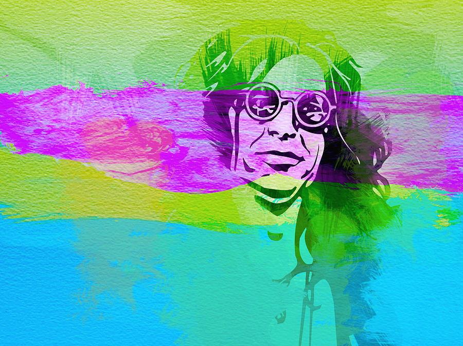 Ozzy Osbourne Painting - Ozzy Osbourne by Naxart Studio