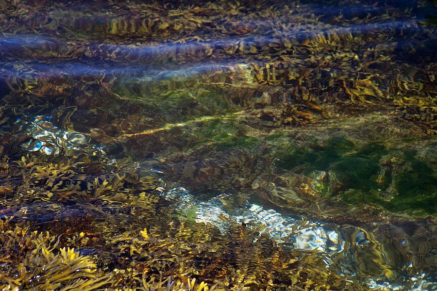 Ripples Photograph - Pacific Calm 3 by David Kleinsasser