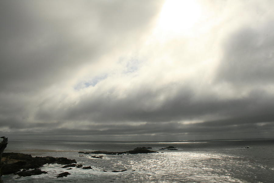 Pacific Ocean Photograph - Pacific Ocean At Point Lobos California by Suzanne Lorenz