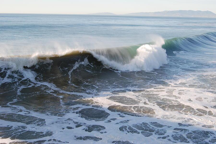 Water Photograph - Pacific Ocen by Richard Adams