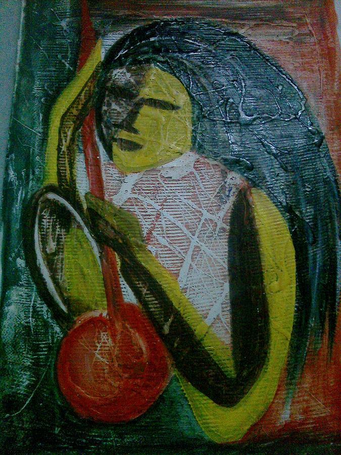 Pacificm Painting by Anumehaa Jaiin