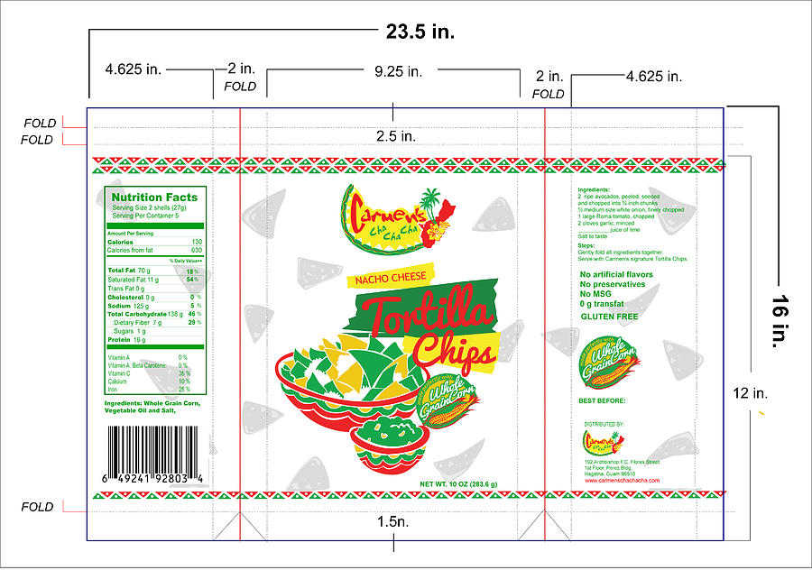 Packaging Study 2t Drawing by Vanj Correa