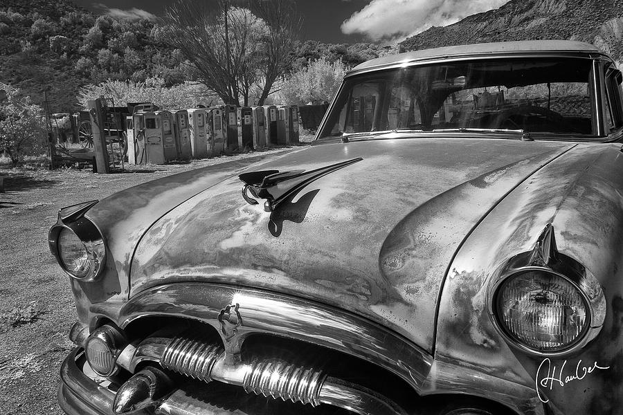 Auto Photograph - Packard by Christine Hauber