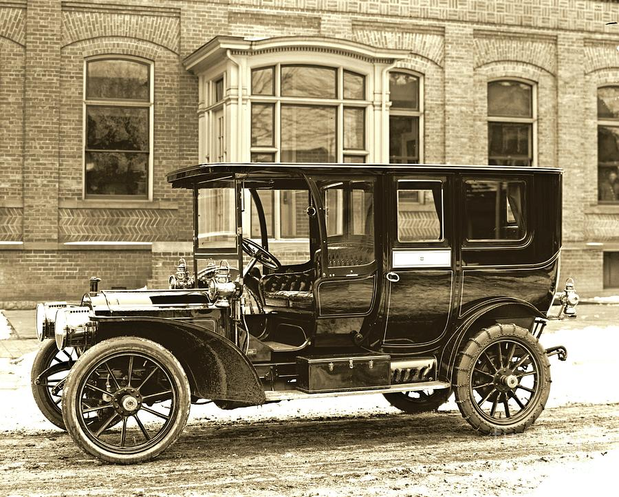 1910 Photograph - Packard Motor Car Company Automobile 1910 by Padre Art