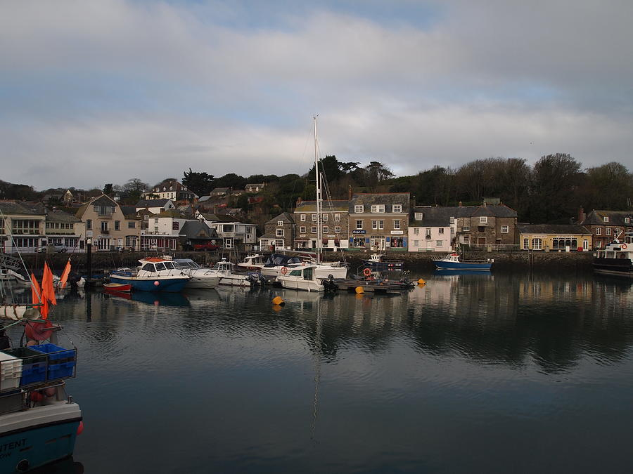 Padstow Photograph - Padstow Harbour by Christopher Mercer