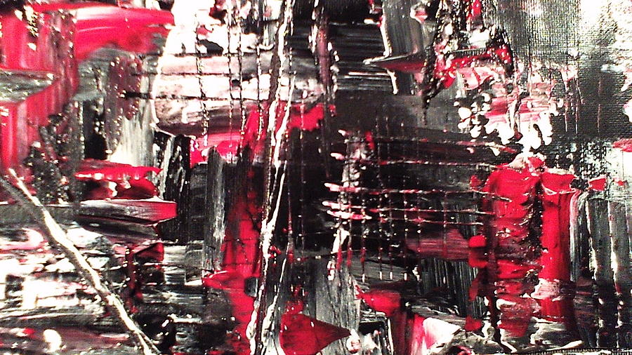Abstract Painting Painting - Pain by Lisa Williams