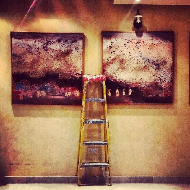 Instagram Photograph - #paint #colors #ladder #wall #jordan by Abdelrahman Alawwad