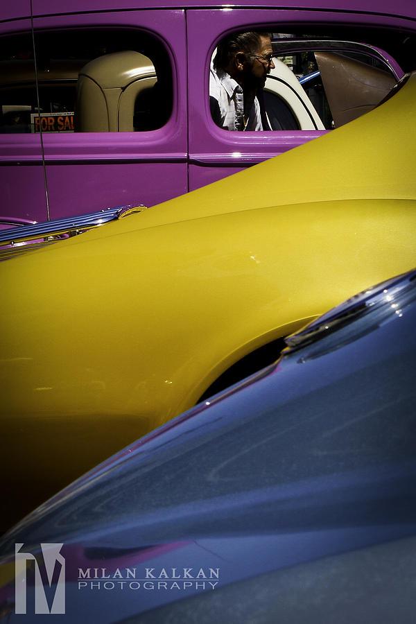 Cars Photograph - Paint Job by Milan Kalkan