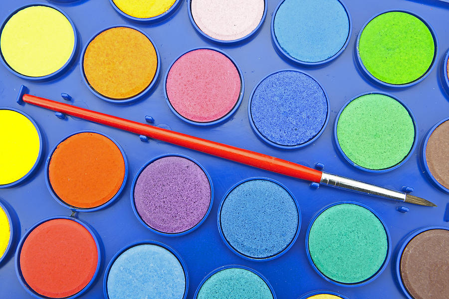 Colors Photograph - Paintbox by Joana Kruse