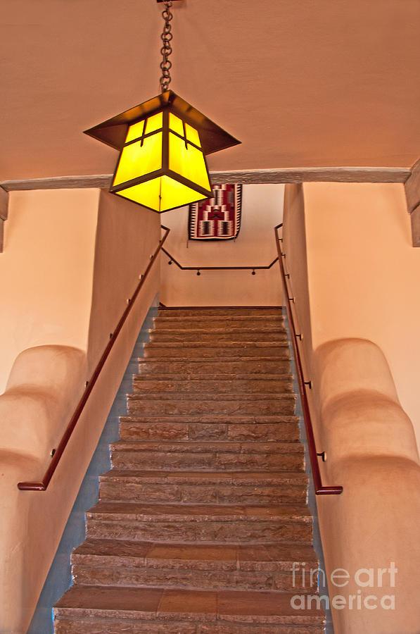 Photograph Photograph - Painted Desert Inn Interior by Bob and Nancy Kendrick
