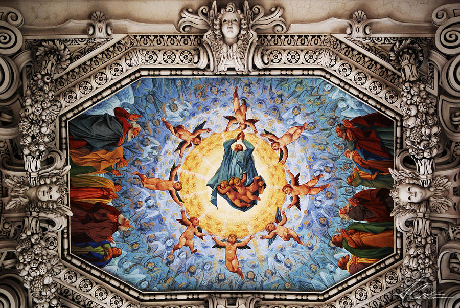 Religious Paintings Photograph - Painted Roof by Anthony Citro