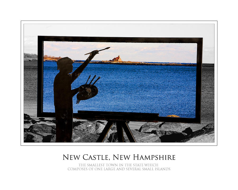 New Castle Photograph - Painter by Jim McDonald Photography