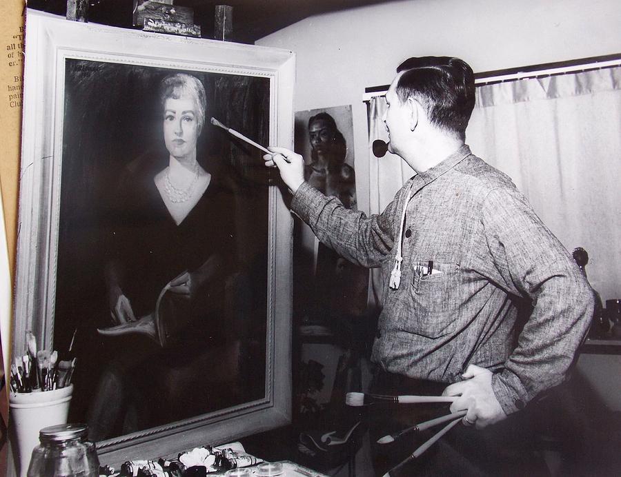Portrait Photograph - Painting A Portrait by Bill Joseph  Markowski