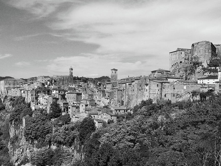 Horizontal Photograph - Palace And City by Marco Di Fabio