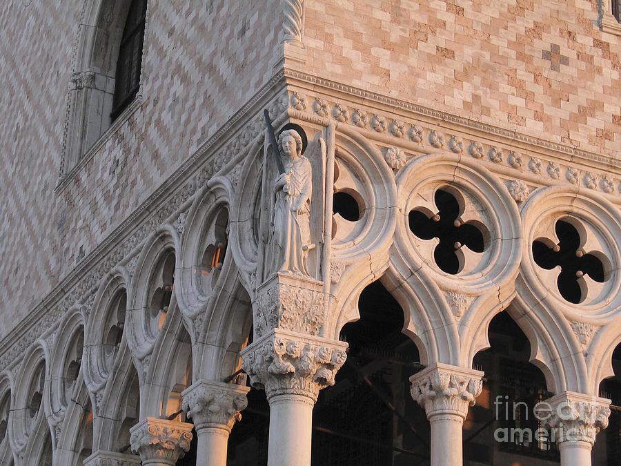 Italie Photograph - Palace Ducal. Venice by Bernard Jaubert