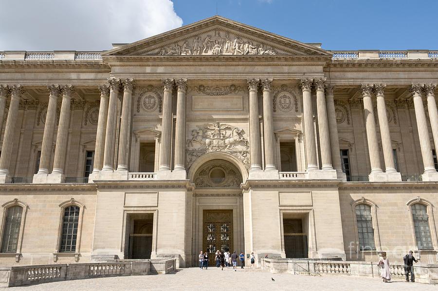 Palais Photograph - Palais Du Louvre I by Fabrizio Ruggeri
