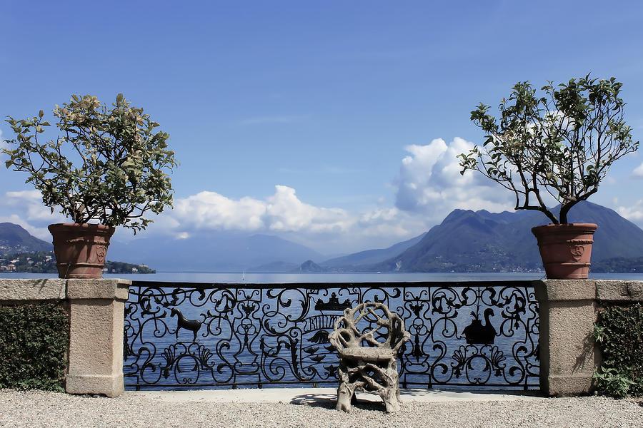 Travel Photograph - Palazzo Borromeo - Isola Bella by Joana Kruse