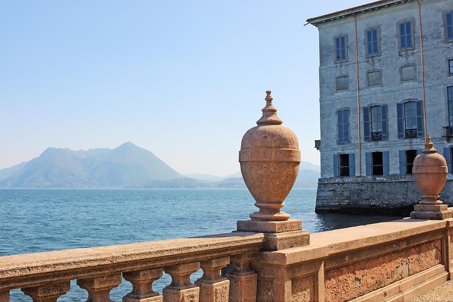 Tourism Photograph - Palazzo Borromeo by Joana Kruse