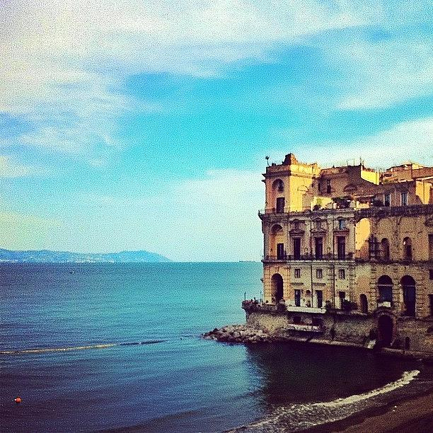 Amazing Photograph - Palazzo Donnanna - Napoli Italia by Gianluca Sommella